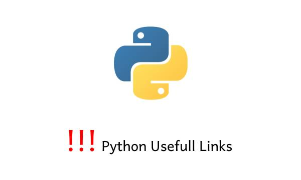 python usefull links