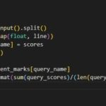 Finding the percentage HackerRank problem solving in Python