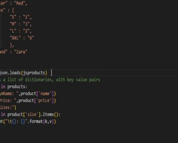 paese JSON with Python