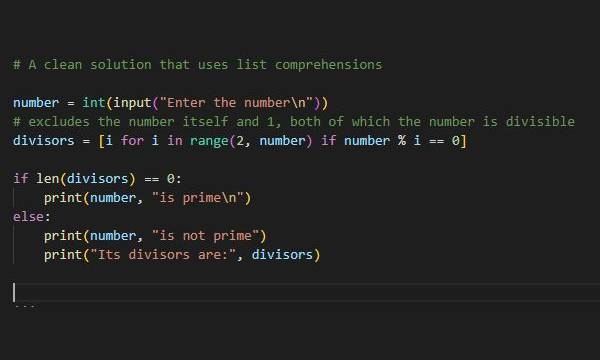 check a number is prime in python